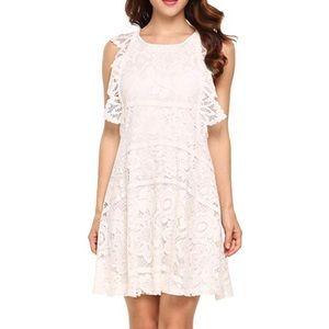 Dresses & Skirts - NWT-Sleeveless A-line Casual Flared MidiTank Dress
